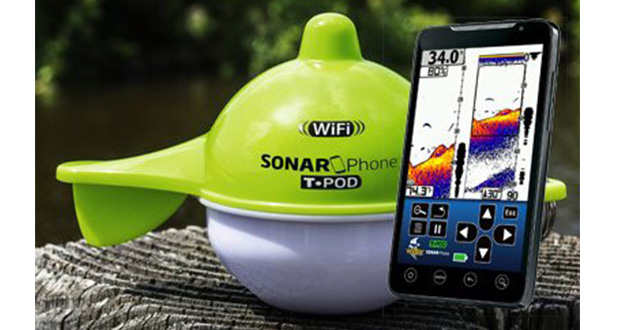 Vexilar has developed the now-patented SonarPhone product, which allows anglers to turn smart devices such as smartphones into sonar devices with the use of Wi-Fi. (Submitted photo)