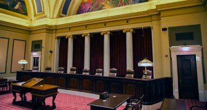 The Supreme Court chamber in the Minnesota State Capitol in St. Paul. (File photo: Kevin Featherly)