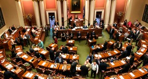 The House of Representatives chamber in the Minnesota State Capitol. (AP file photo)