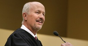Chief Judge Edward J. Cleary at his investiture in 2013. (File photo)