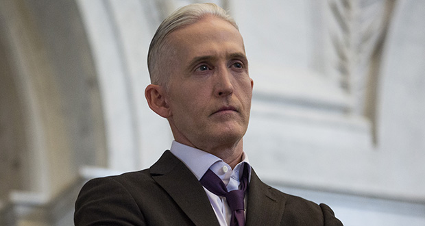U.S. Rep. Trey Gowdy rose to prominence leading a special House panel investigating the attacks on an American diplomatic post in Benghazi, Libya, while Hillary Clinton was secretary of state. (Bloomberg file photo)