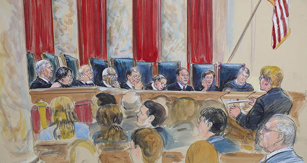 The legal community seems split over a U.S. Supreme Court policy allowing attorneys two minutes to begin their statements before justices jump in with questions. (AP file photo)