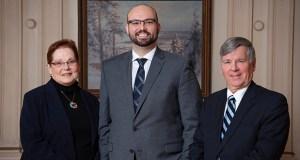 Sharon Van Dyck, Tyler Brimmer and Donald Chance Mark Jr.