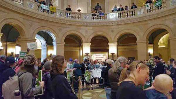 Minnesota's Rally to legalize cannabis is held on or around 4/20 every year!