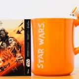 BB-8のマグカップと非売品のカード