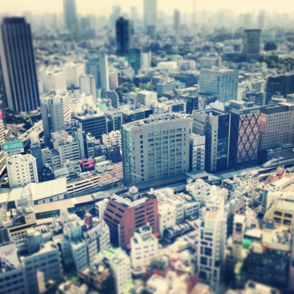Getting Perspective in Tokyo