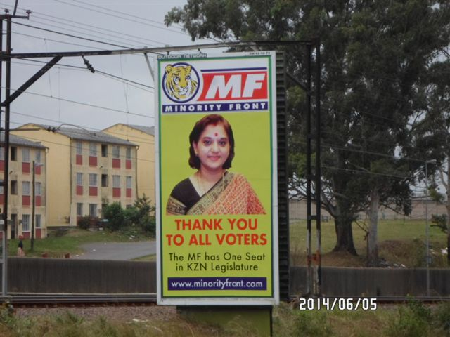 Thank you Advert - Minonity Front ON 48 48 72 .1