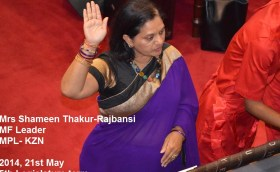 2014 , May 21st- Swearing in of Parliament.