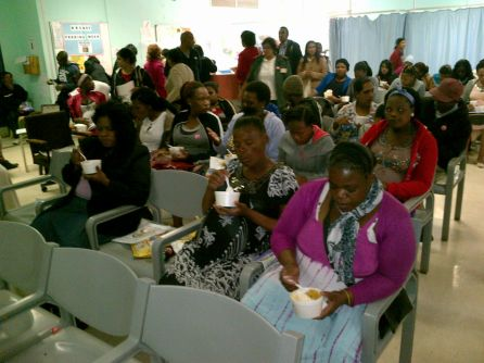 "Antenatal Clinic Receives A Treat For ""Woman's Month"""