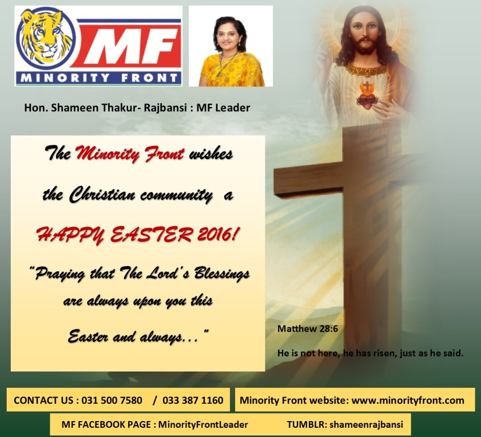 str corrections Easter advert 2016