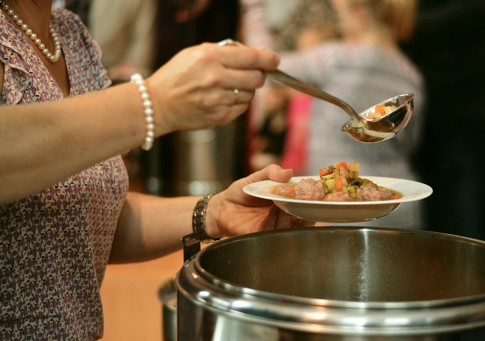 MF Serves 300 Meals at Soup Kitchen Launch