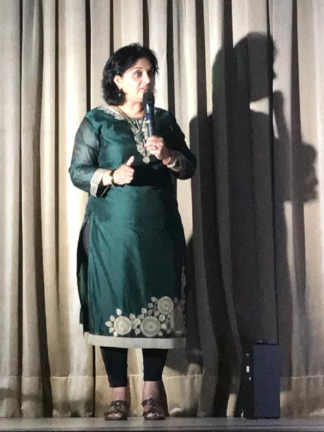 MF LEADER SUPPORTS LOCAL DANCE INSTITUE IN UMZINTO: MF Leader, Hon Shameen Thakur-Rajbansi addressed the audience on how important it is to encourage and motivate young teenagers to be confident and assertive in their surroundings. She also encouraged the