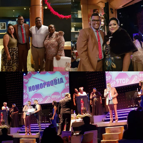 Minority Front Team Supports LGBT Community at The 2018 Gay  Oscarettes