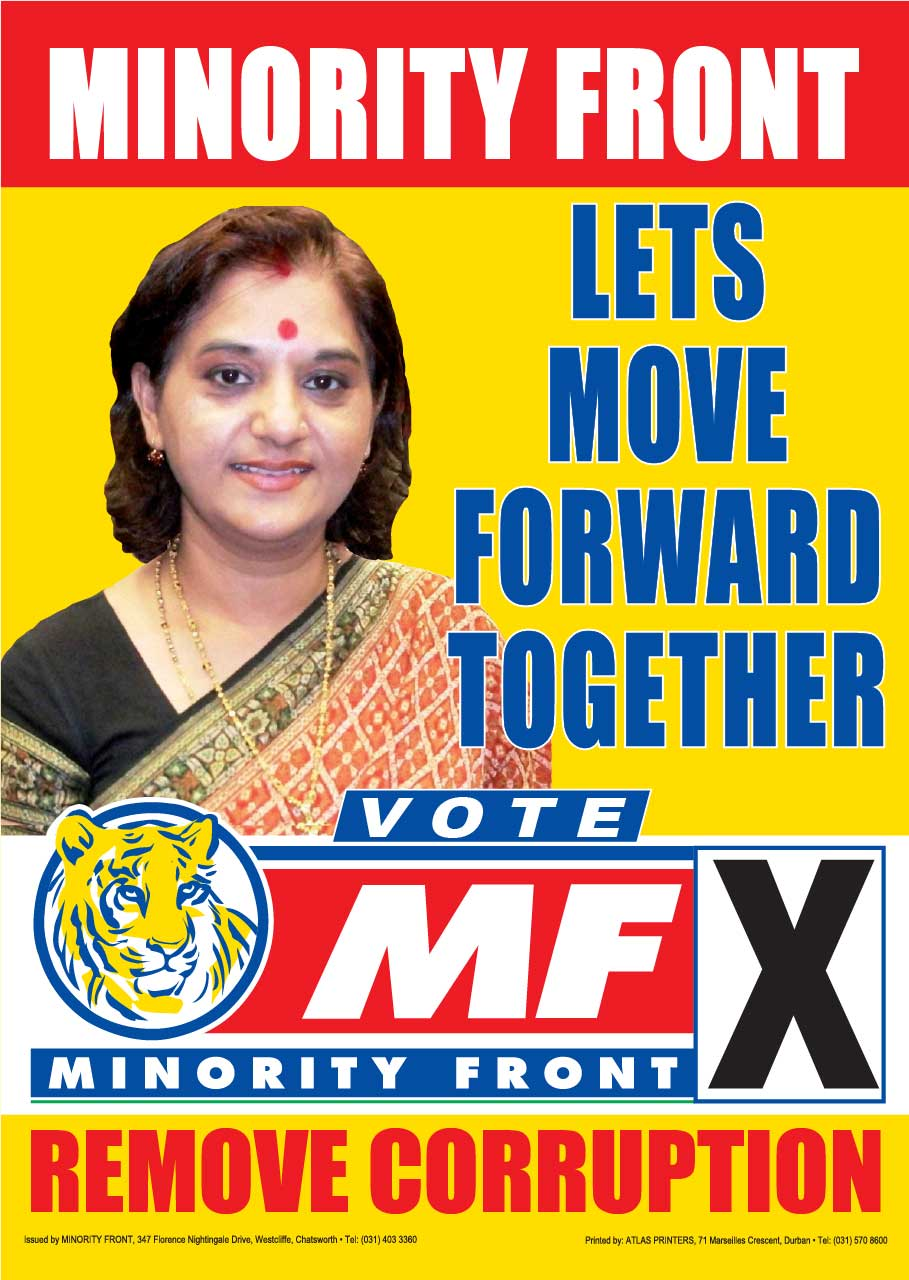 Let's Move Forward Together – MF Manifesto Launch Posters