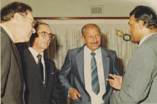 Mr Rajbansi with political photograph 5