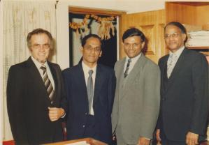 Mr Rajbansi with political photograph 7