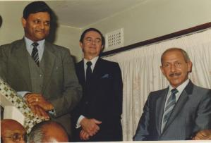 Mr Rajbansi with political photograph 9