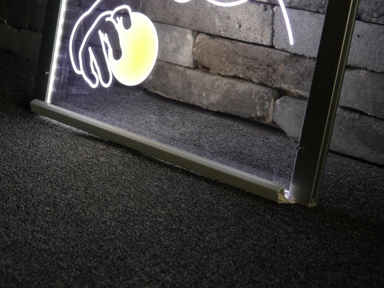 아크릴 LED 간판의 밝기 를 위한 듀얼 조명