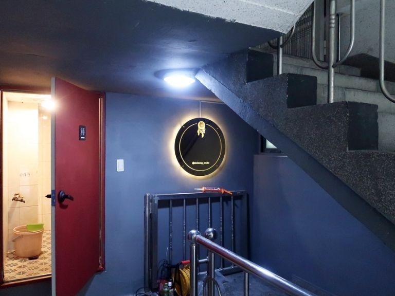 실내간판 골드미러 거울간판 022외부간판 LED간판 LED사인 거울사인