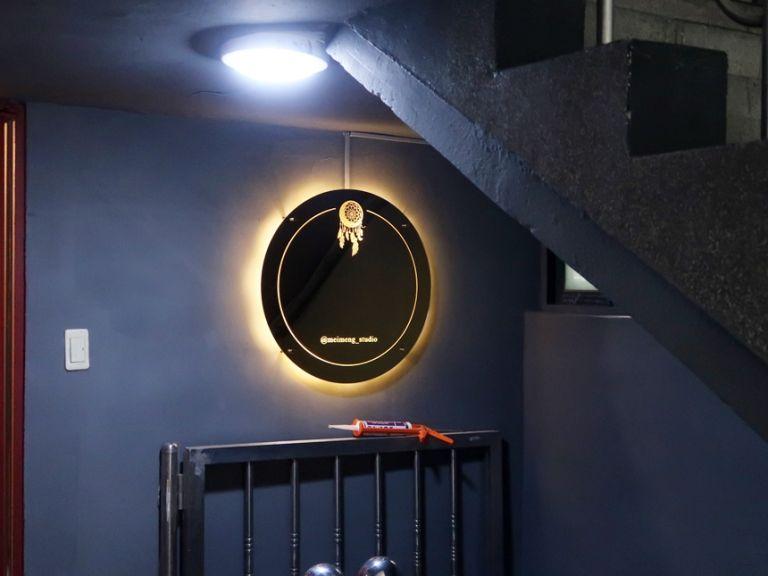 실내간판 골드미러 거울간판 023외부간판 LED간판 LED사인 거울사인