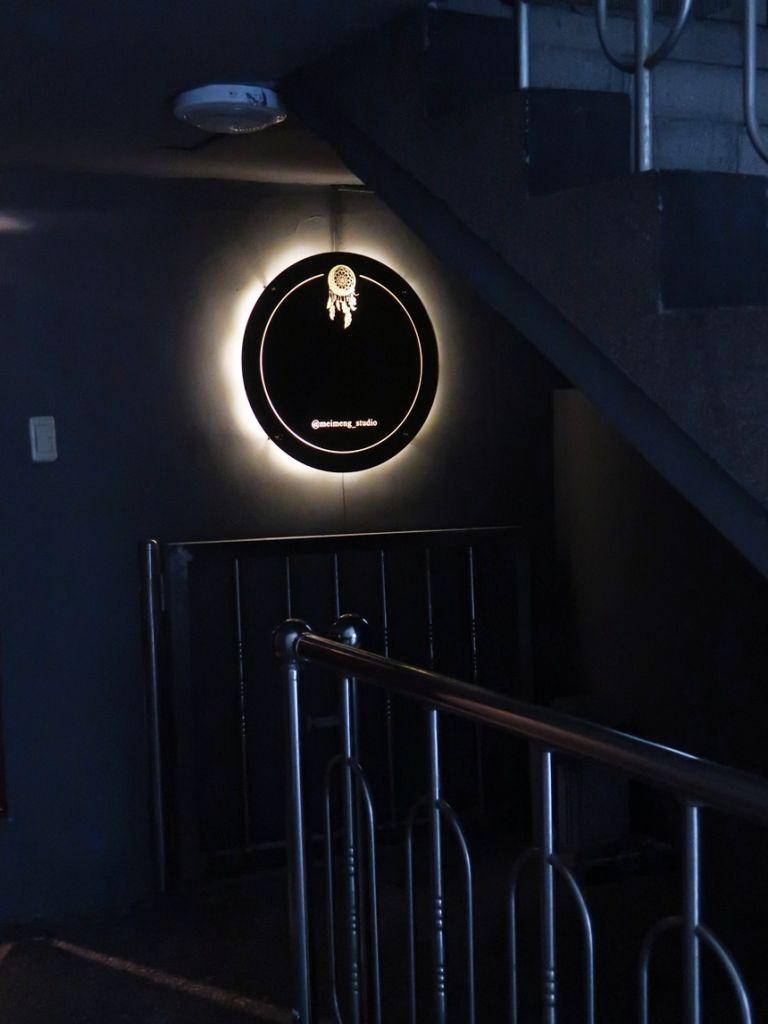 실내간판골드미러 거울간판 035외부간판 LED간판 LED사인 현관문패 거울사인