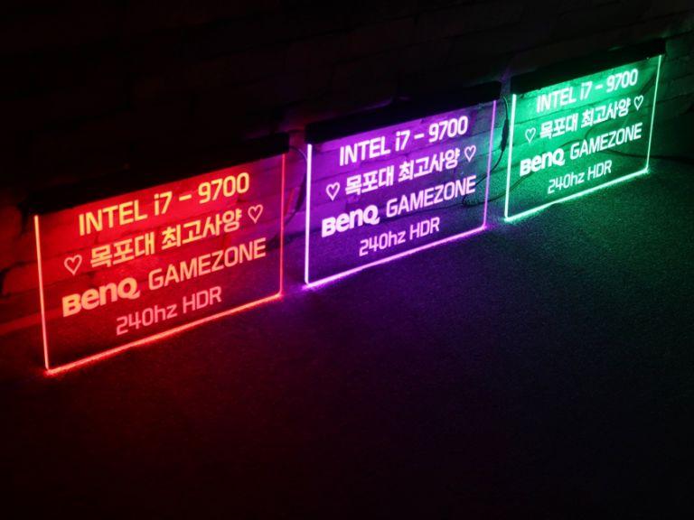 전용석아크릴 도어사인 아크릴배너 PC방지정석 005 전용석아크릴 LED전용석 1
