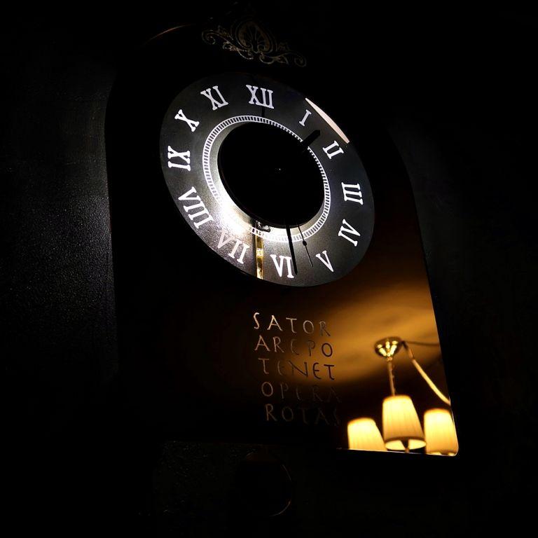 괘종시계 조명 LED 벽시계 001 20210109 실내조명 시계 특이한시계 디자인시계 시계선물