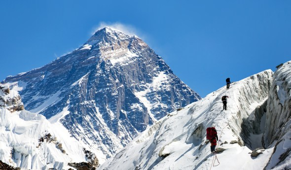 ネパール、エベレスト