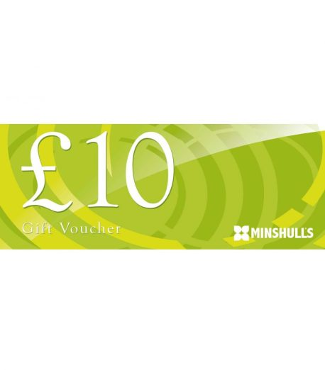 ten pound voucher at Minshull's Garden centre and plant nursery cheshire