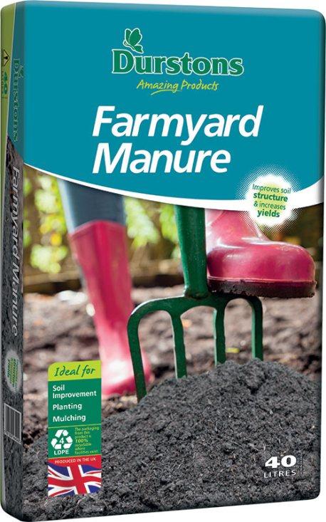 Durstons 40L Farmyard manure