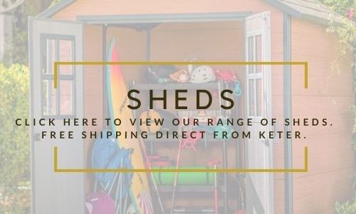 Keter Sheds at Minshull's