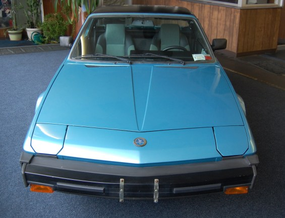 FIAT X1 9 Front