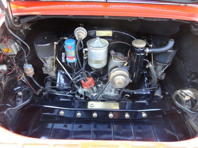 porsche 912 targa Engine