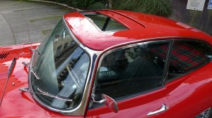 1967 Jag series 1.5 roof