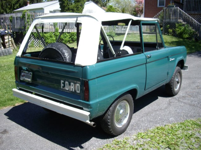 66 Ford Bronco