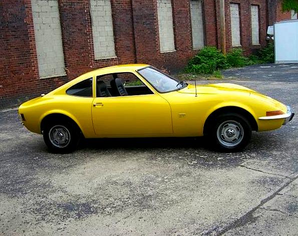 Pop-ups: '70 Opel GT | Mint2Me