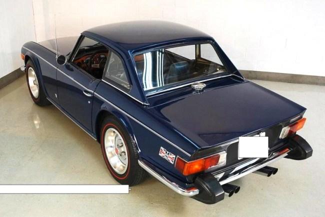 74 Triumph TR 6