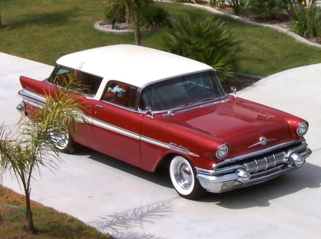 57 Pontiac Safari