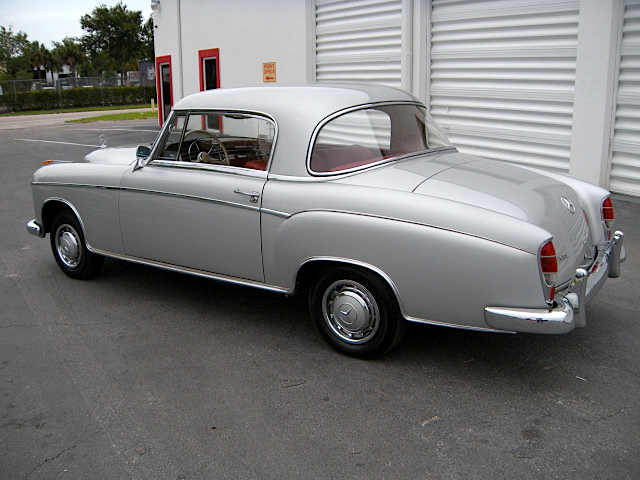 58 Mercedes Benz Coupe f