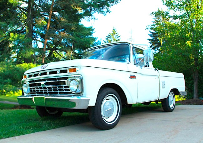 66 Ford F100