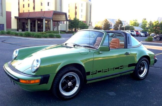 Olive & Cork: '78 Porsche 911SC Targa | Mint2Me