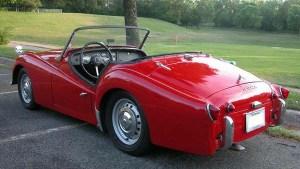 58 Triumph TR3A