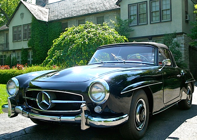 62 Mercedes Benz 190SL