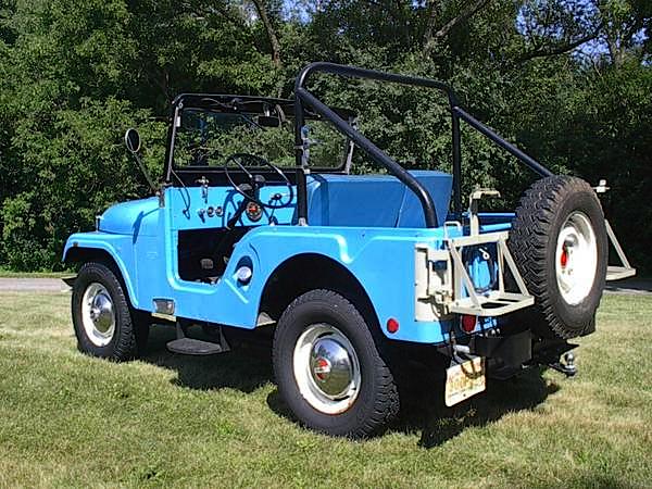 65 Kaiser Jeep CJ5A