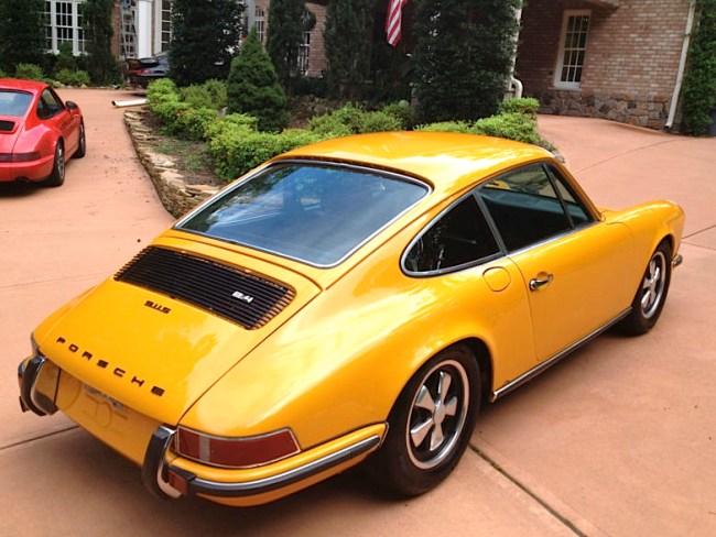 72 Porsche 911S