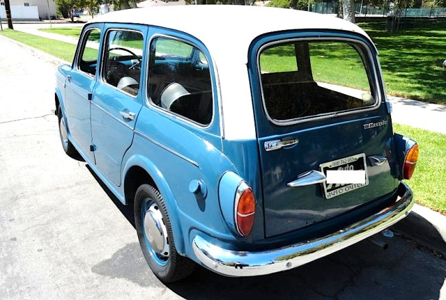 1960 Fiat 1100 Millecento Wagon