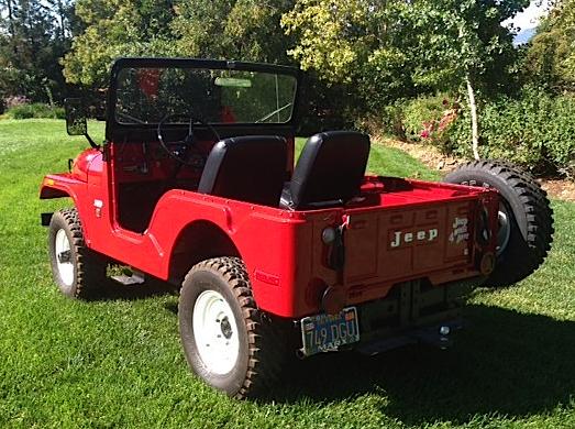 71 Jeep CJ5 re