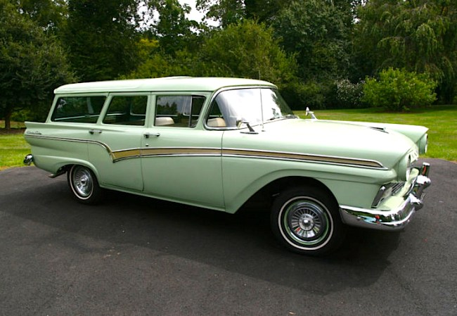 Part One: '57 Ford Country Station Wagon | Mint2Me