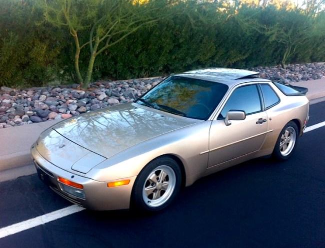 Desert stormer: '86 Porsche 944 Turbo | Mint2Me