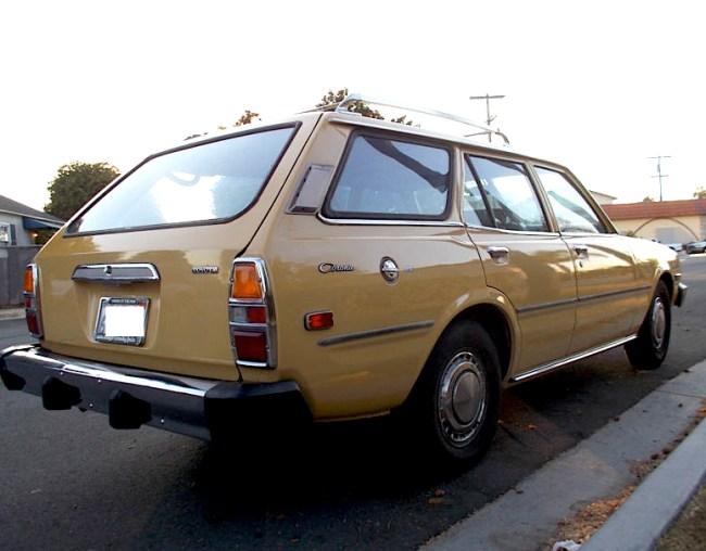 77 Toyota Corona Wagon